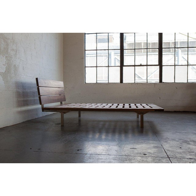 Adirondack Mid-Century Modern TGM Queen Size Studio Bed For Sale - Image 3 of 9