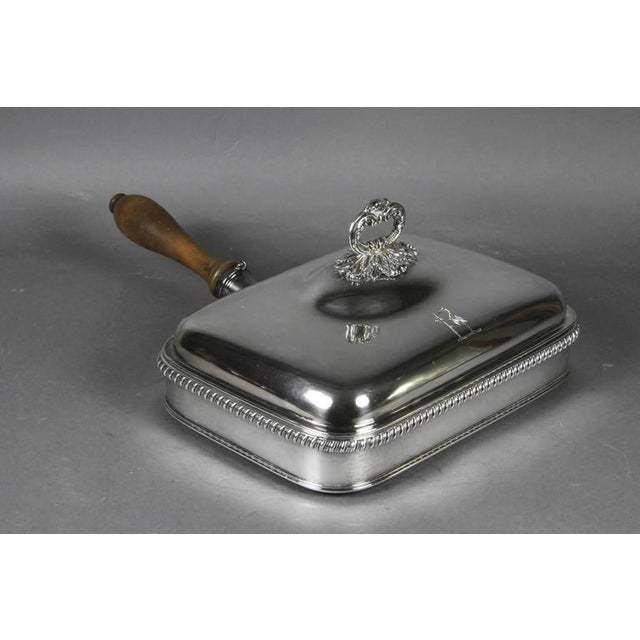 Regency Silver Plated Toasted Cheese Dish by Matthew Boulton - Image 10 of 10