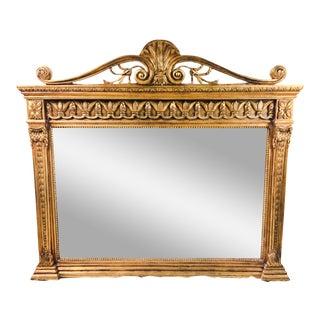 1950s Giltwood Italian Mirror