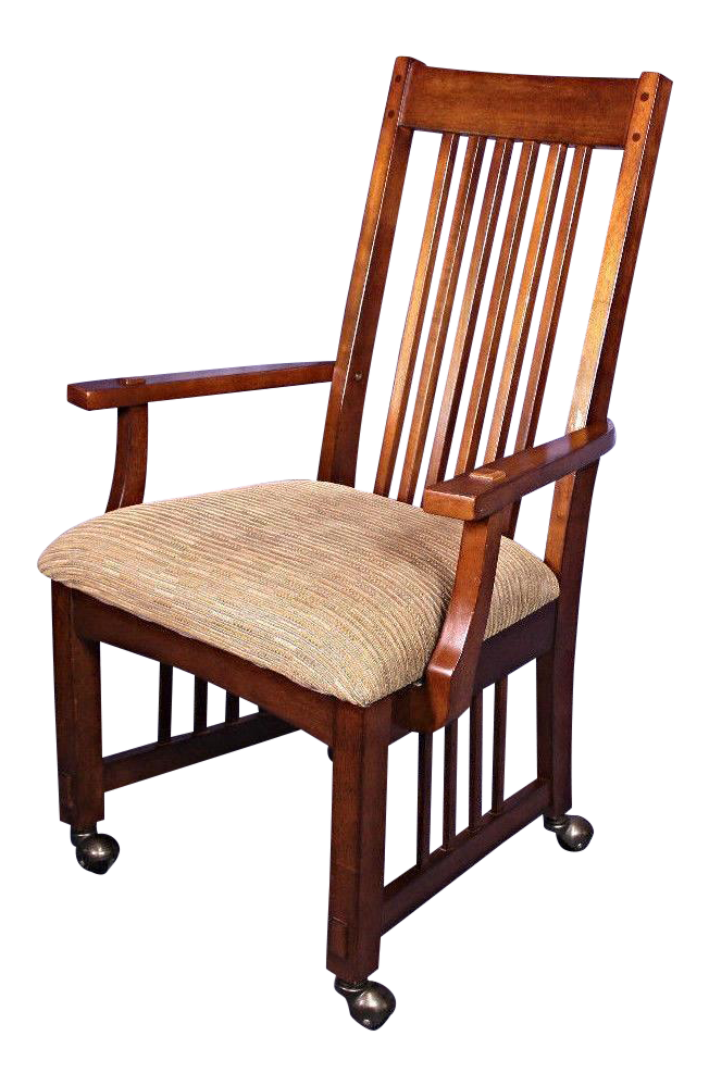 Arts And Crafts Stickley Chair Armchair