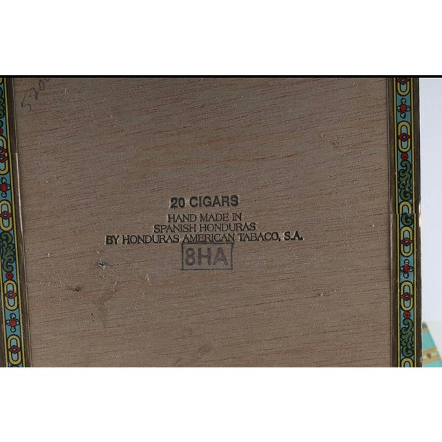 Mid 20th Century Vintage La Escepción Cigar Boxes - 10 Pieces For Sale - Image 5 of 6