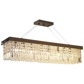 Image of Newly Made Rectangular Chandeliers