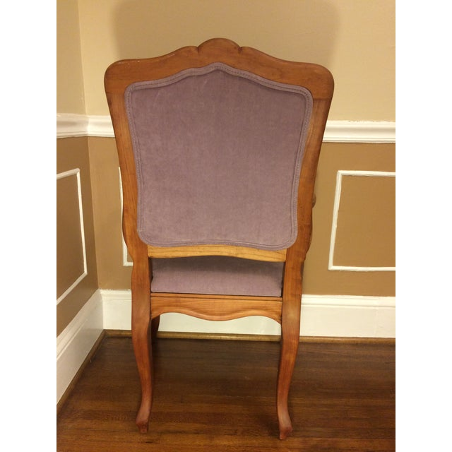 1990s Vintage Baker Chair For Sale In Charlotte - Image 6 of 11