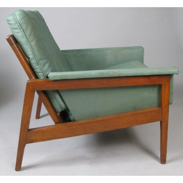 Wood 1950s Walnut Lounge Chairs - a Pair For Sale - Image 7 of 9