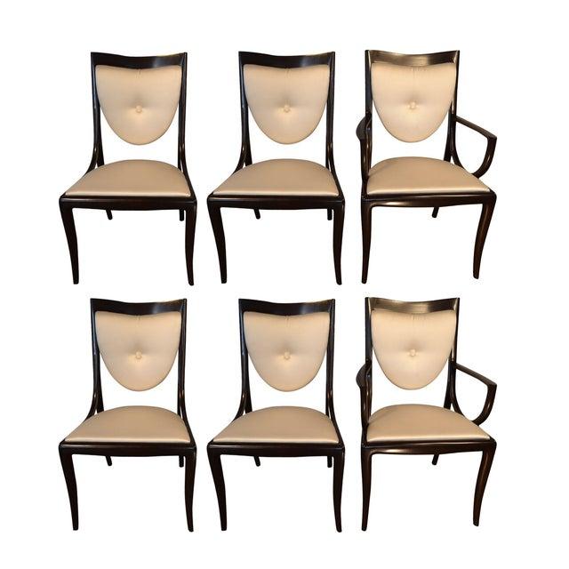 Thomas Moser Moserform Sabina Chairs - Set of 6 - Image 1 of 9