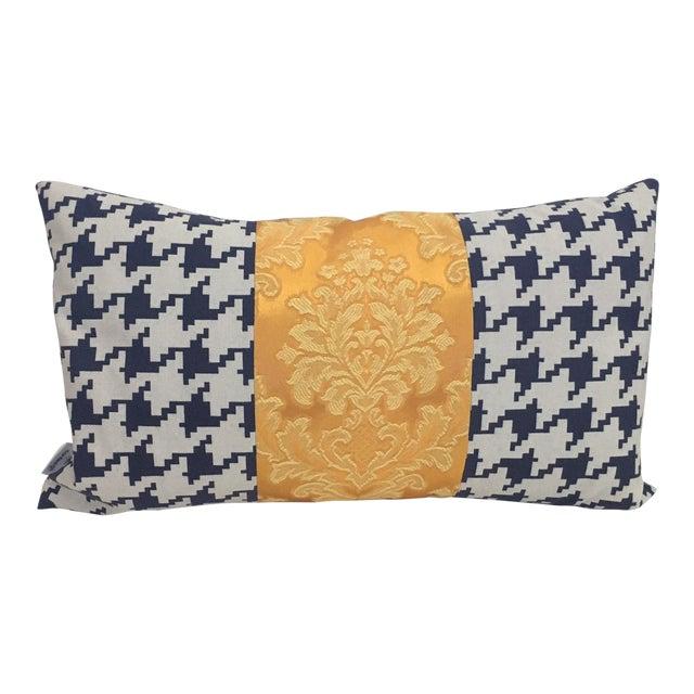 Contemporary Brocade Pillow For Sale