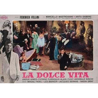La Dolce Vita R1964 Italian Fotobusta Film Poster For Sale
