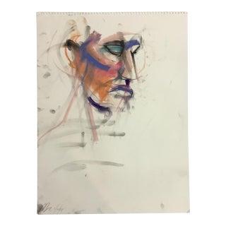 Rolando Rosler Abstract Portrait #1 For Sale