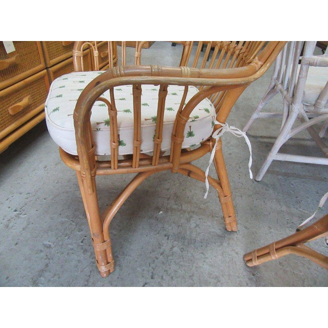 Island Style Rattan Chairs - A Pair - Image 2 of 7