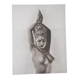 Vintage Silver Gelatin Nude Photograph For Sale