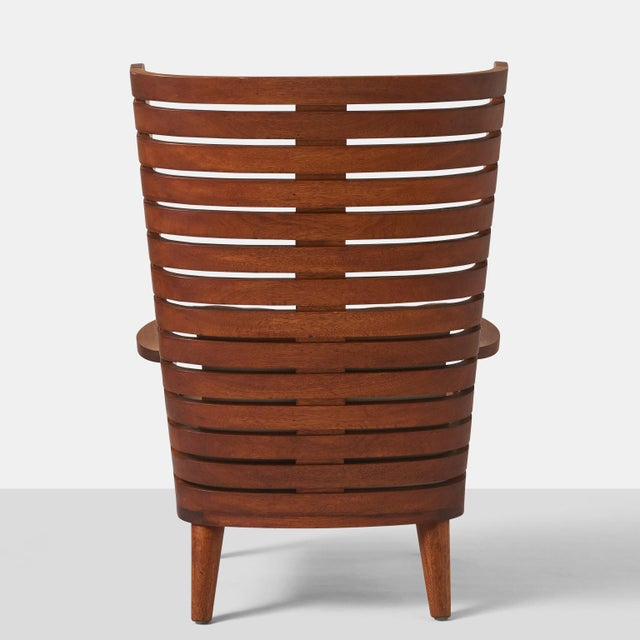 Not Yet Made - Made To Order A LINEAR WING CHAIR EXCLUSIVELY FOR ALMOND & CO. For Sale - Image 5 of 11