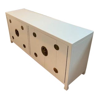 Mid-Century Modern 1960s Henredon Ming Console For Sale