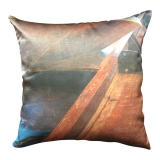 Silk Arcadia Park Designs Pillow For Sale