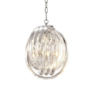 Marco Polo S Lucite Loop Chandelier For Sale