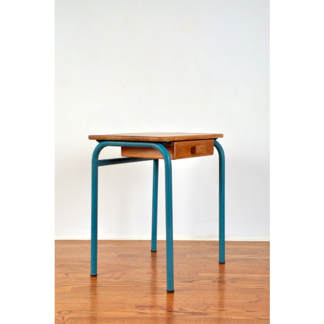 Industrial Child's Desk by Jean Prouve For Sale - Image 3 of 11