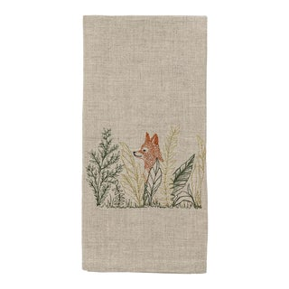 Fox Meadow Tea Towel For Sale