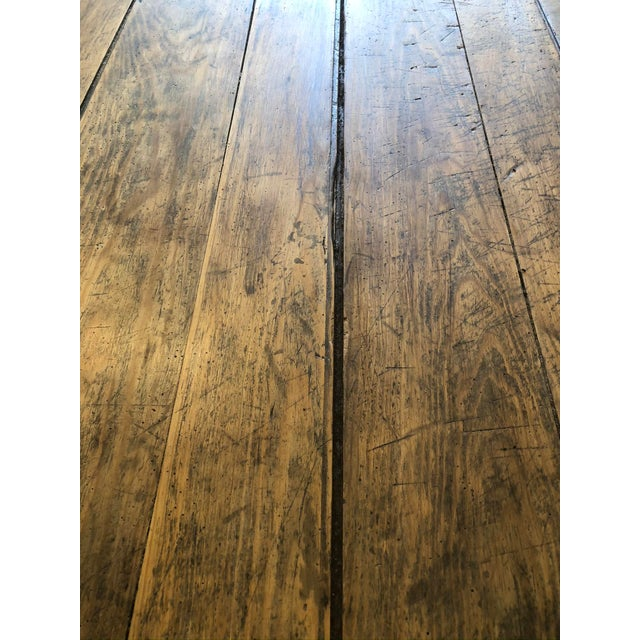 Antique French Farm Table For Sale - Image 9 of 12