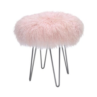 Pink Curly Hairpin Stool For Sale
