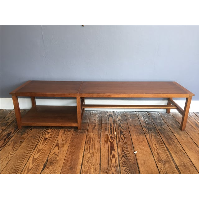 Vintage Dunbar Coffee Table or Bench - Image 2 of 7