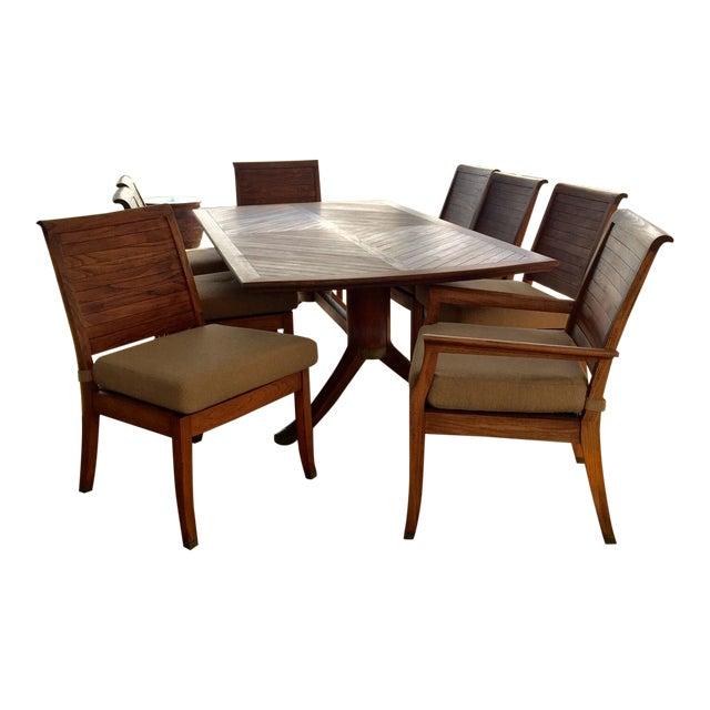 Gloster Teakwood 9 Piece Dining Set - Image 1 of 9