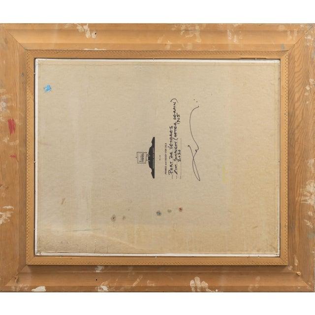 'Port De Vendres' by Ant McNaught, 2020, After André Derain, Esalen, California, Post Impressionist Oil For Sale - Image 10 of 12