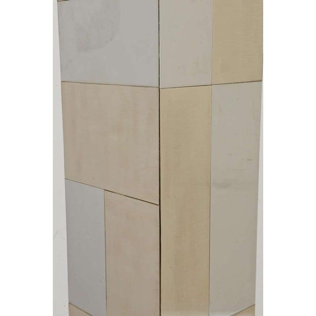 "Paul Evans Dual Metal ""Cityscape"" Floor Lamp For Sale - Image 10 of 10"