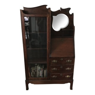 19th Century Side-By-Side Display Cabinet For Sale