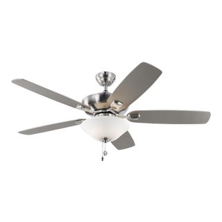"""Monte Carlo 52"""" Colony Max Plus in Brushed Steel For Sale"""