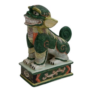 Green Chinese Foo Dog For Sale