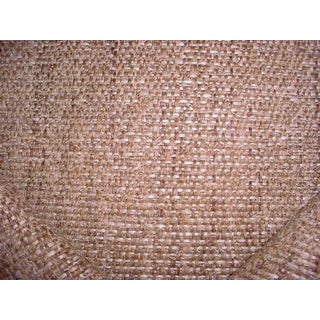 Traditional Ralph Lauren Palm Desert Weave Adobe Tweed Upholstery Fabric - 2-5/8y For Sale