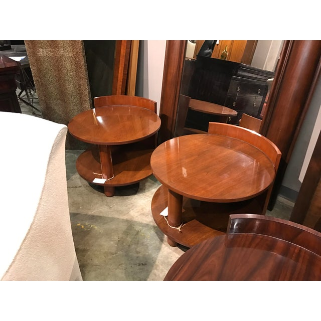 Hollywood Regency Ralph Lauren Modern Hollywood End Table For Sale - Image 3 of 3