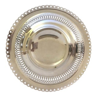 Vintage Saint-Medard French Silver Bowl For Sale
