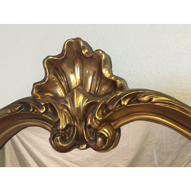 Hollywood Regency Gilt Mirror - Image 4 of 7