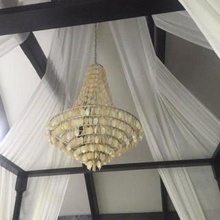 Capiz Shell Bell Shaped Chandelier Preview