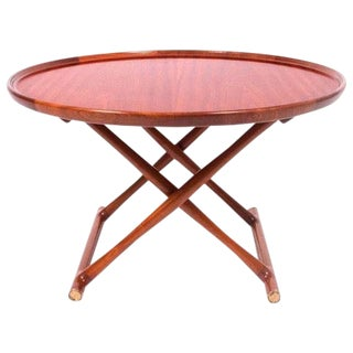 "MOGENS LASSEN ""Egyptian"" Folding Table ca. 1940 For Sale"
