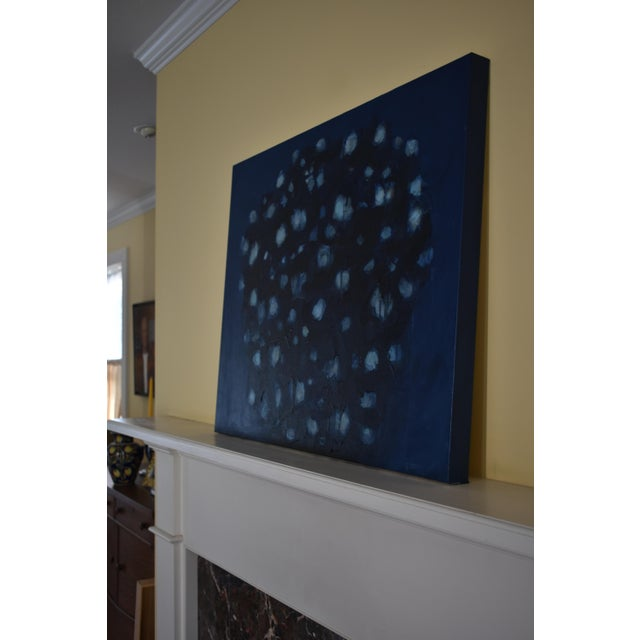 "Paint Stephen Remick ""Magnolia in Moonlight"" Contemporary Abstract Painting For Sale - Image 7 of 10"