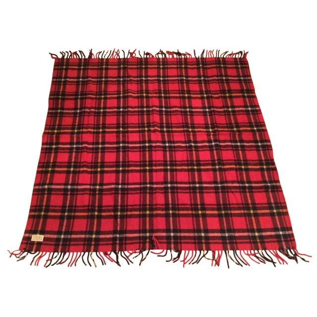 Red Plaid Faribo Wool Blanket - Image 1 of 6