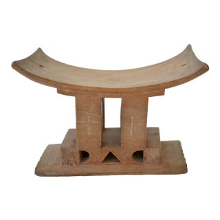 Ashanti Stool Ghana, Early 20th Century For Sale