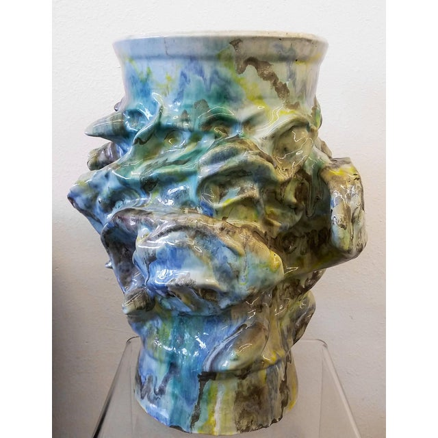 1960s Monumental Early Elena Karina Vessel For Sale - Image 4 of 11
