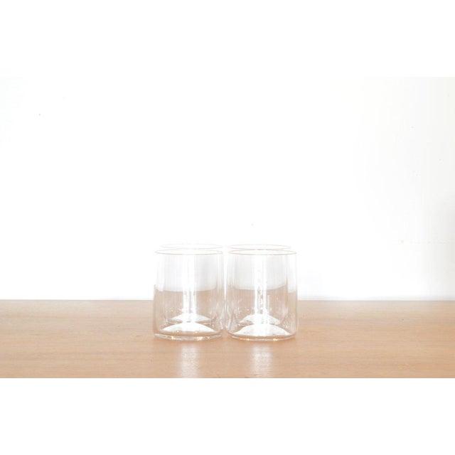 Belgian Klaar Prims Set of 4 'Cin Cin' Glasses - Clear For Sale - Image 3 of 3