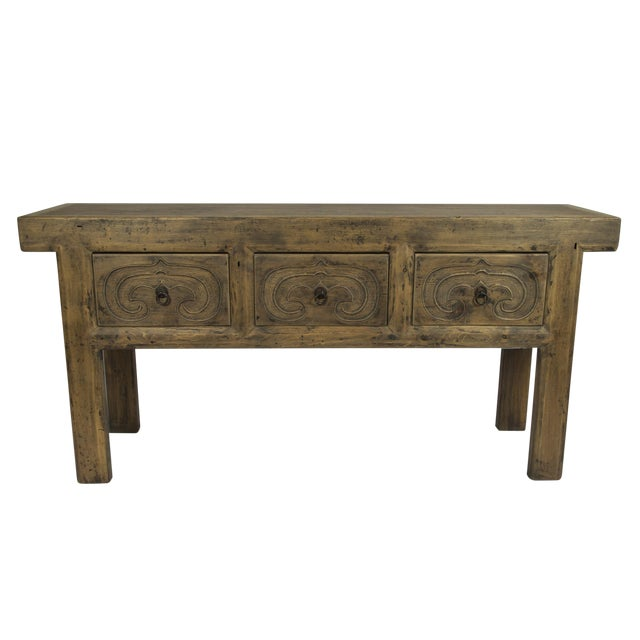 Rustic Altar Console Table - Image 1 of 3