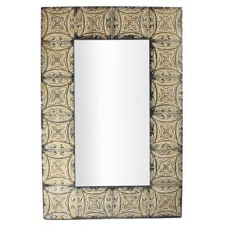 Vintage Tin Ceiling Mirror