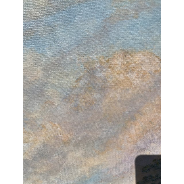 Florida Everglades Acrilic Painting in Pastels Tones. For Sale - Image 9 of 13