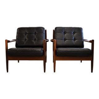 Sophisticated Mid century Arm Chairs