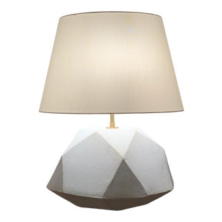 Ceramic Geode Table Lamp For Sale