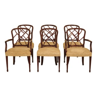 Kindel Mahogany Dining Room Chairs - Set of 6