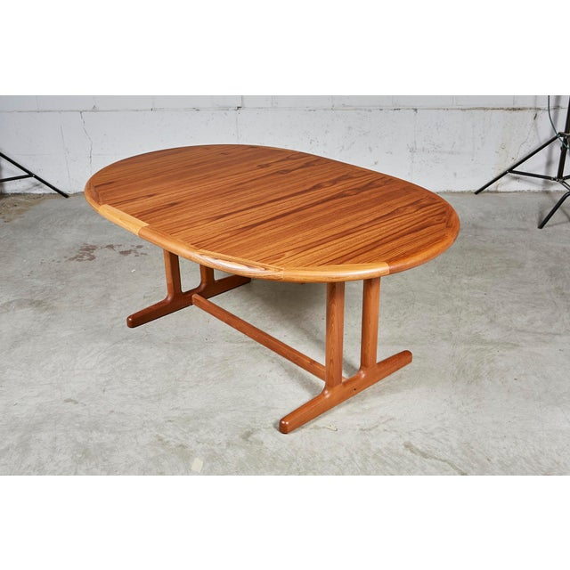 1970s Teak Dining Table & Chairs For Sale In Boston - Image 6 of 13