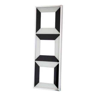 Op Art Mirror by Verner Panton / Turner Mfg For Sale