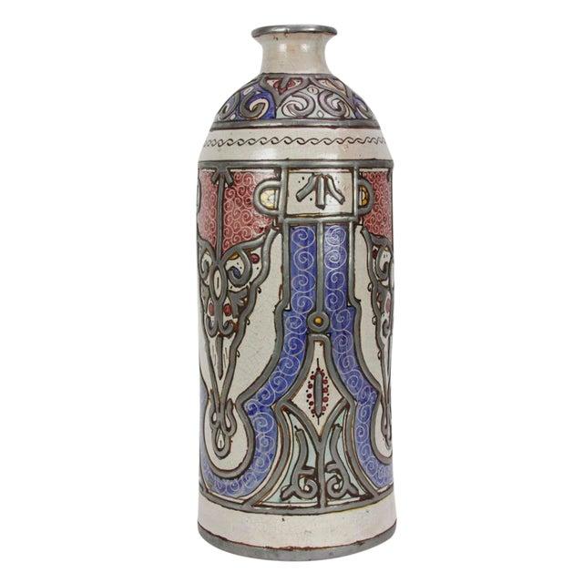Khalida Tall Moroccan Jar For Sale