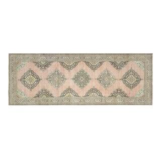 "Nalbandian - 1960s Turkish Oushak Carpet - 4'8"" X 13'0"" For Sale"